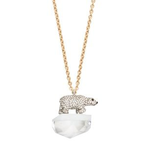 Kate Spade Cold Comforts Polar Bear Pendant